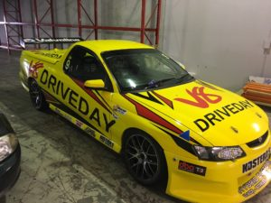 race car graphics wraps V8