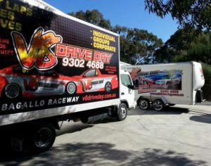 Truck vehicle wraps