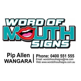 word of mouth signs Wangara